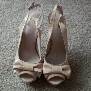 Dolce Vita Nude High Heels Size 7
